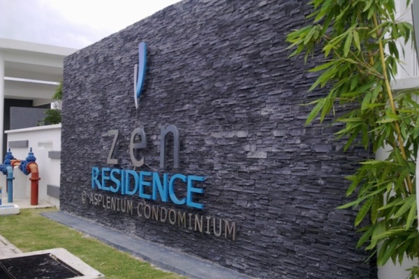 For Sale Condominium at Zen Residence, Puchong Leasehold Semi Furnished 4R/2B 540k