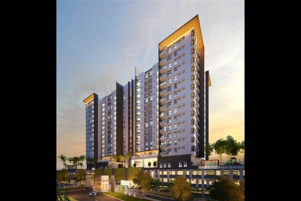 For Sale Condominium at Iris Residence, Bandar Sungai Long Freehold Unfurnished 3R/2B 542k
