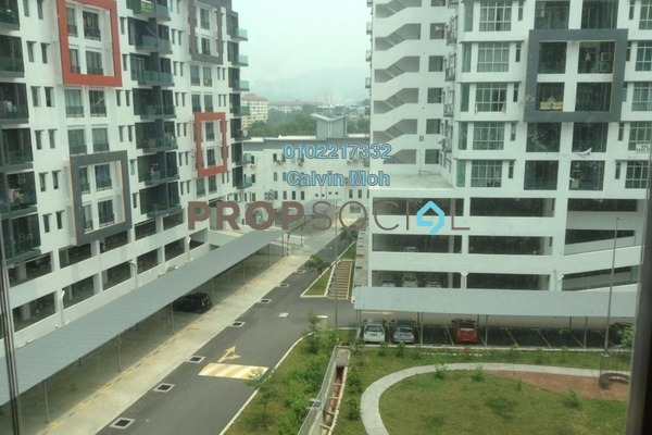 For Rent Condominium at Mahkota Garden Condominium, Bandar Mahkota Cheras Freehold Semi Furnished 4R/2B 1.3k