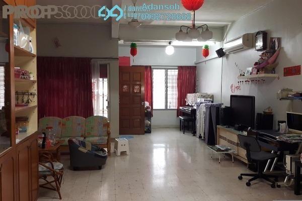 For Sale Terrace at Taman Batu, Jinjang Freehold Semi Furnished 5R/4B 830k