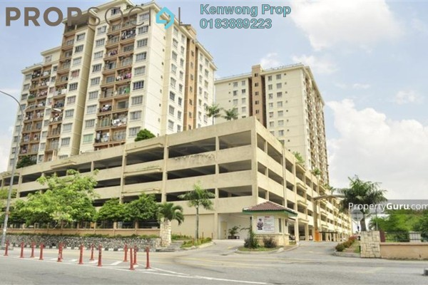 For Rent Condominium at Ampang Prima, Ampang Leasehold Semi Furnished 3R/2B 1.8k