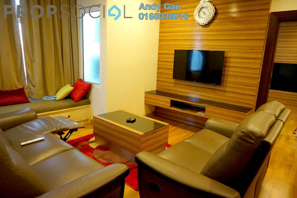 For Rent Serviced Residence at Dua Sentral, Brickfields Freehold Fully Furnished 2R/2B 3.7k