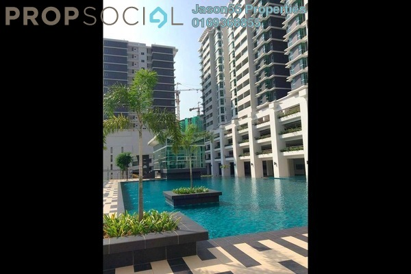 For Rent Condominium at Kiara Residence, Bukit Jalil Leasehold Semi Furnished 4R/3B 1.7k