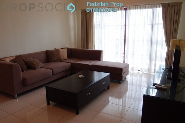 For Rent Condominium at Hartamas Regency 1, Dutamas Freehold Semi Furnished 4R/3B 3.8k