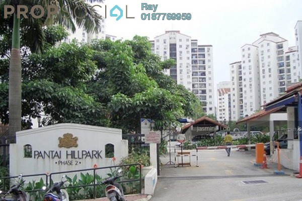 For Rent Condominium at Pantai Hillpark 2, Pantai Leasehold Fully Furnished 3R/2B 2.2k