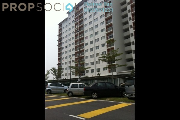 For Rent Apartment at Suria Permai, Bandar Putra Permai Leasehold Unfurnished 3R/2B 900translationmissing:en.pricing.unit