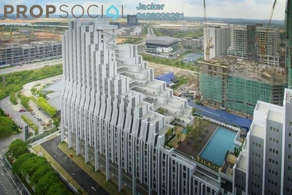 For Rent Condominium at Pan'gaea, Cyberjaya Freehold Fully Furnished 4R/2B 2k