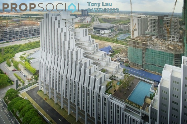 For Rent Condominium at Paragon, Cyberjaya Freehold Fully Furnished 4R/2B 2k