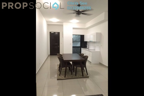 For Rent Condominium at Glomac Centro, Bandar Utama Leasehold Semi Furnished 3R/2B 2.3k