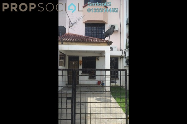 For Rent Terrace at Taman Sri Sinar, Segambut Freehold Unfurnished 3R/3B 1.3k