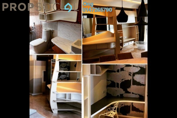 For Rent Condominium at VERVE Suites, Mont Kiara Freehold Fully Furnished 3R/2B 6k