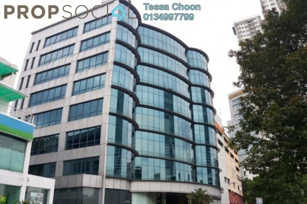 For Rent Office at Wisma Volkswagen, Bangsar Freehold Semi Furnished 3R/4B 15k