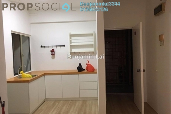 For Rent Condominium at Mas KiPark Damansara, Kepong Freehold Semi Furnished 3R/2B 1.2k