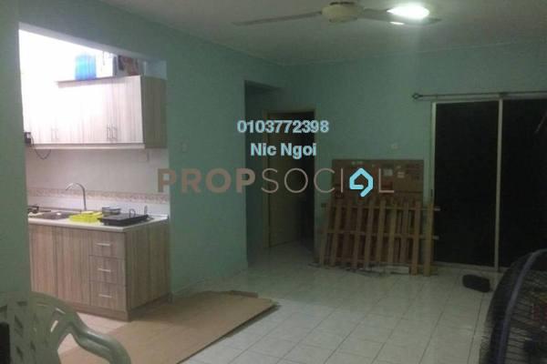 For Rent Apartment at Pelangi Damansara, Bandar Utama Leasehold Fully Furnished 3R/2B 1.5k