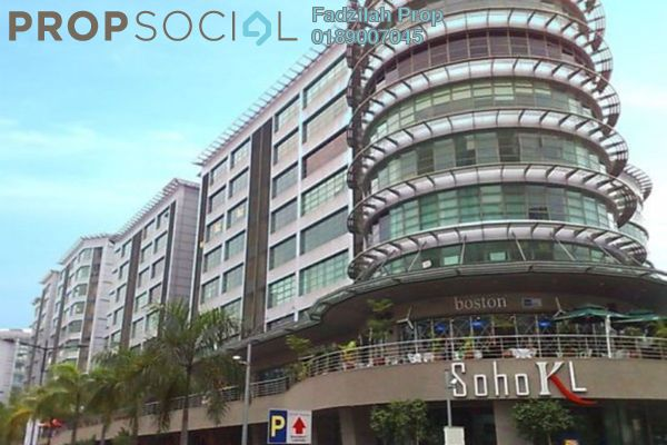 For Rent Office at Solaris Mont Kiara, Mont Kiara Freehold Fully Furnished 0R/0B 4.9k