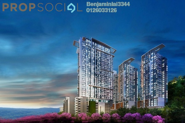 For Sale Condominium at Ion Delemen, Genting Highlands Freehold Fully Furnished 2R/2B 1.05m