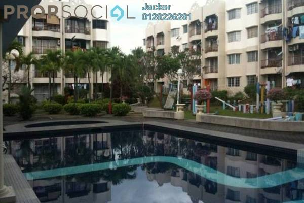For Rent Condominium at Bella Vista, Ampang Leasehold Semi Furnished 3R/2B 1.2k