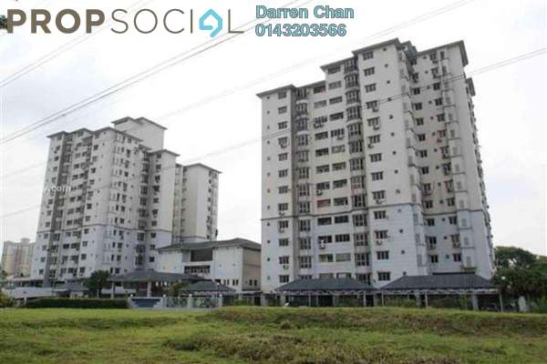 For Rent Condominium at Avant Court, Old Klang Road Leasehold Semi Furnished 3R/2B 1.3k