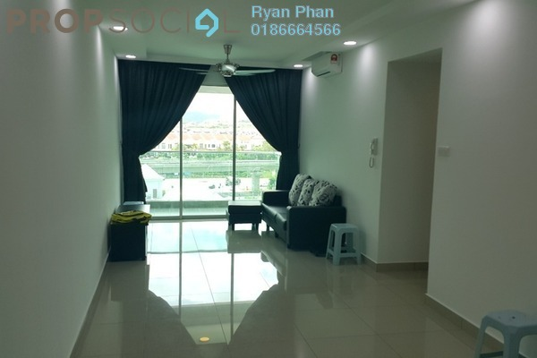 For Rent Condominium at Kiara Residence 2, Bukit Jalil Leasehold Fully Furnished 3R/2B 2k