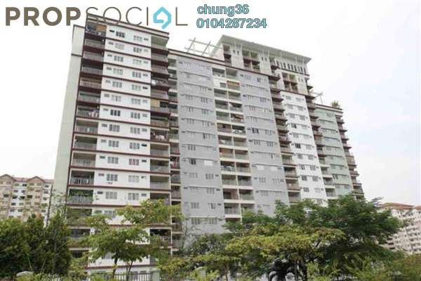 For Rent Condominium at Vista Amani, Bandar Sri Permaisuri Leasehold Unfurnished 4R/2B 1.5k