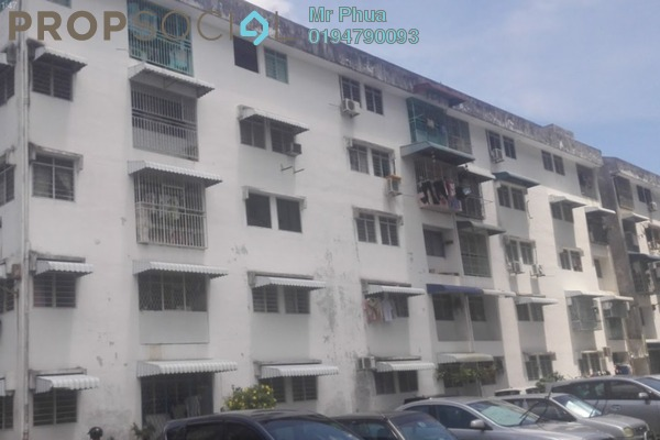 For Rent Apartment at Desa Intan, Farlim Freehold Semi Furnished 3R/2B 700translationmissing:en.pricing.unit