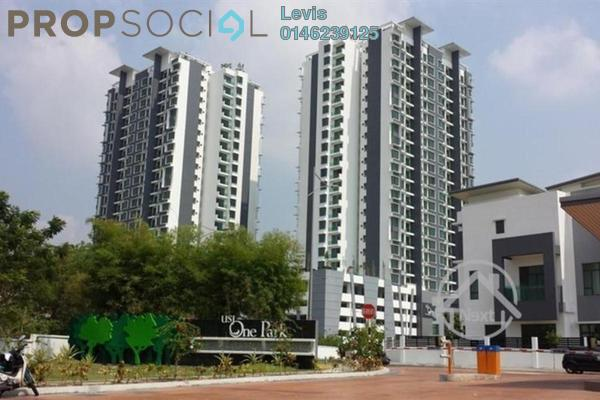 For Rent Condominium at USJ One Park, UEP Subang Jaya Leasehold Fully Furnished 2R/1B 2.1k