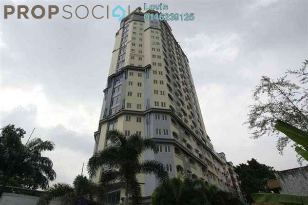For Rent Condominium at D-Villa Residence, Ampang Hilir Freehold Fully Furnished 1R/1B 1.7k