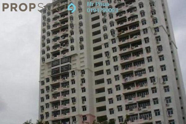 For Rent Apartment at Taman Jubilee, Sungai Nibong Freehold Fully Furnished 3R/2B 1.2k