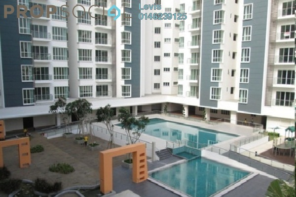 For Rent Condominium at 8 Petaling, Sri Petaling Leasehold Semi Furnished 3R/5B 2.5k