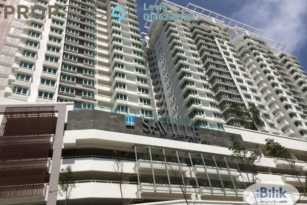 For Rent Condominium at Saville, Melawati Freehold Semi Furnished 3R/2B 1.6k
