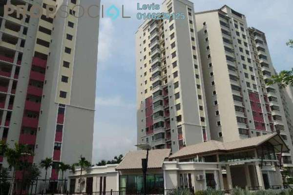 For Rent Condominium at Savanna 1, Bukit Jalil Freehold Fully Furnished 4R/2B 2k