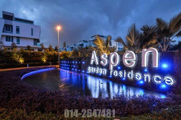 For Sale Bungalow at Aspen Bungalows @ Garden Residence, Cyberjaya Freehold Unfurnished 9R/9B 2.85m