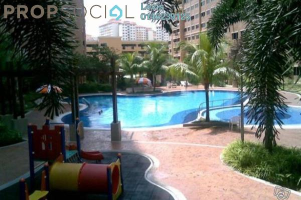 For Rent Condominium at Cengal Condominium, Bandar Sri Permaisuri Leasehold Semi Furnished 3R/2B 1.4k