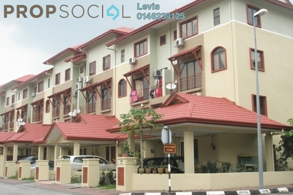 For Rent Condominium at Villa Laman Tasik, Bandar Sri Permaisuri Leasehold Semi Furnished 3R/2B 2.15k
