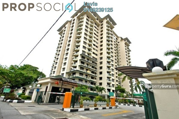 For Rent Condominium at Mutiara Oriental, Tropicana Freehold Fully Furnished 3R/2B 1.9k