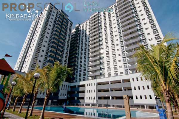 For Rent Condominium at Kinrara Mas, Bukit Jalil Freehold Fully Furnished 3R/2B 1.3k