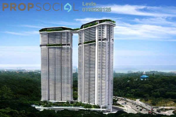 For Rent Condominium at The Sentral Residences, KL Sentral Freehold Semi Furnished 3R/3B 7.5k