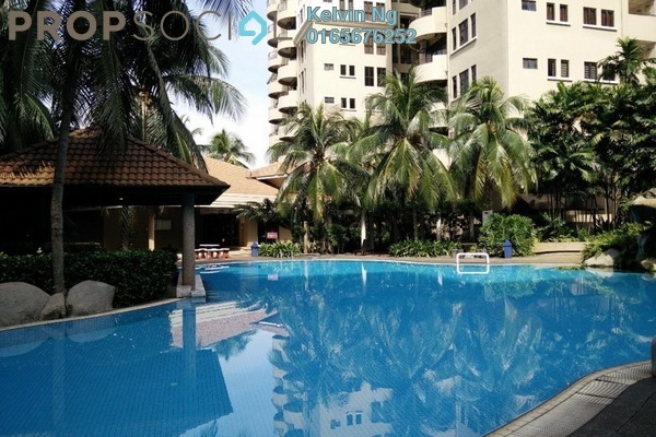 For Sale Condominium at Desa Villa, Taman Desa Freehold Semi Furnished 3R/2B 718k