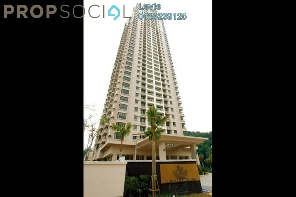 For Sale Condominium at Casa Kiara I, Mont Kiara Freehold Semi Furnished 3R/2B 730k