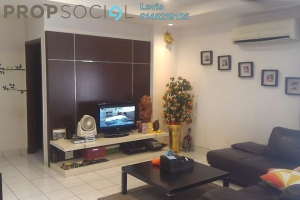For Sale Condominium at Villa Seri Puteri, Cheras Leasehold Semi Furnished 3R/2B 700k