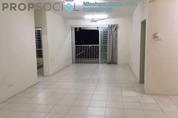 For Rent Condominium at Platinum Suites, KLCC Freehold Semi Furnished 3R/2B 2k