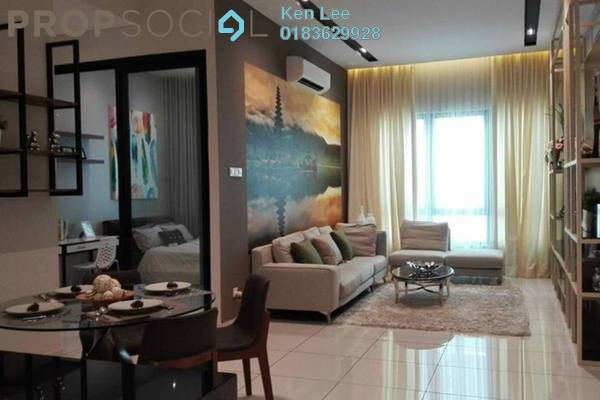 For Sale Serviced Residence at Kiara Plaza, Semenyih Freehold Unfurnished 3R/2B 380k