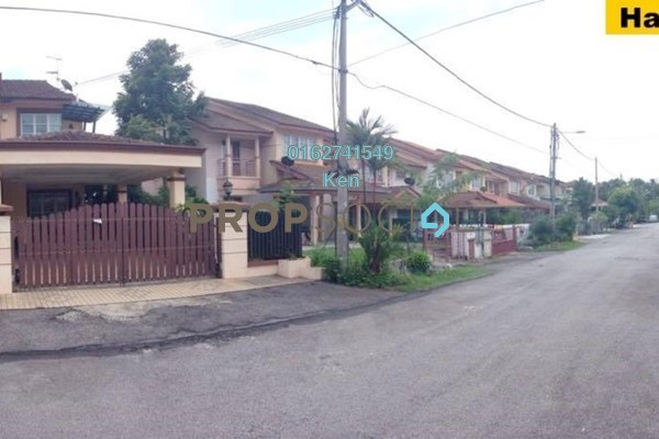 For Sale Terrace at Taman Lestari Perdana, Bandar Putra Permai Leasehold Semi Furnished 4R/3B 680k