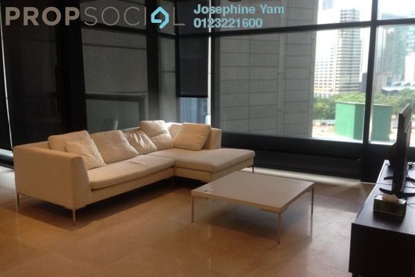For Rent Condominium at The Troika, KLCC Freehold Fully Furnished 1R/1B 4k