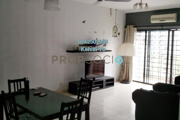 For Rent Condominium at Sri Putramas I, Dutamas Freehold Fully Furnished 3R/2B 1.7k