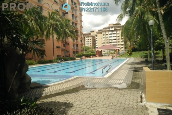For Rent Condominium at Brem Park, Kuchai Lama Leasehold Semi Furnished 3R/2B 1.5k