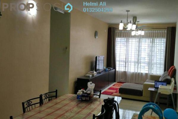 For Sale Condominium at Taman Raintree, Batu Caves Leasehold Semi Furnished 3R/2B 420k