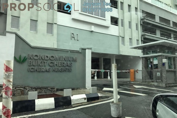 For Rent Condominium at Cheras Heights Condominium, Cheras South Freehold Unfurnished 4R/2B 1.7k