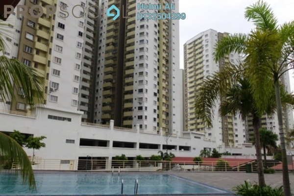 For Sale Condominium at Magna Ville, Selayang Leasehold Semi Furnished 3R/2B 320k