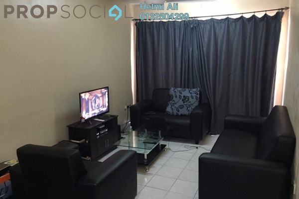 For Sale Apartment at Flora Damansara, Damansara Perdana Leasehold Semi Furnished 3R/2B 260k